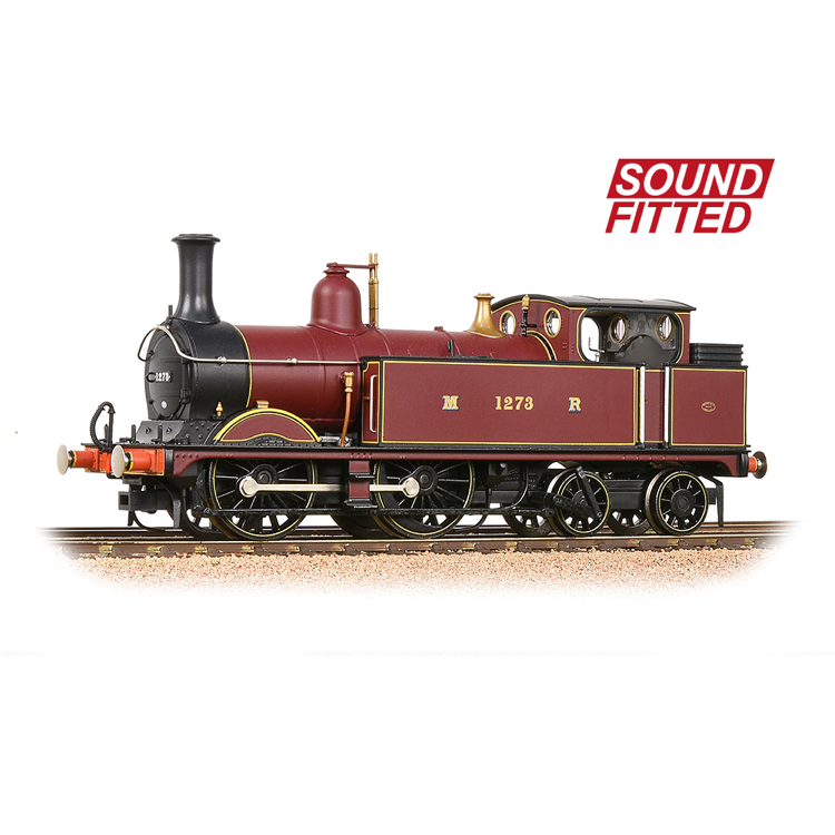 Bachmann 31-740SF MR 1532 (1P) Tank 1273 Midland Railway Crimson Lake