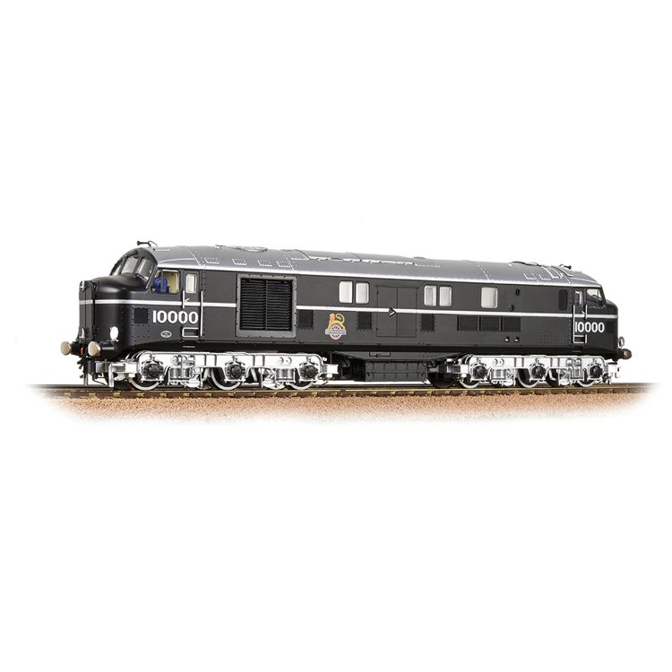 Bachmann 31-999 LMS 10000 BR Black (Early Emblem)