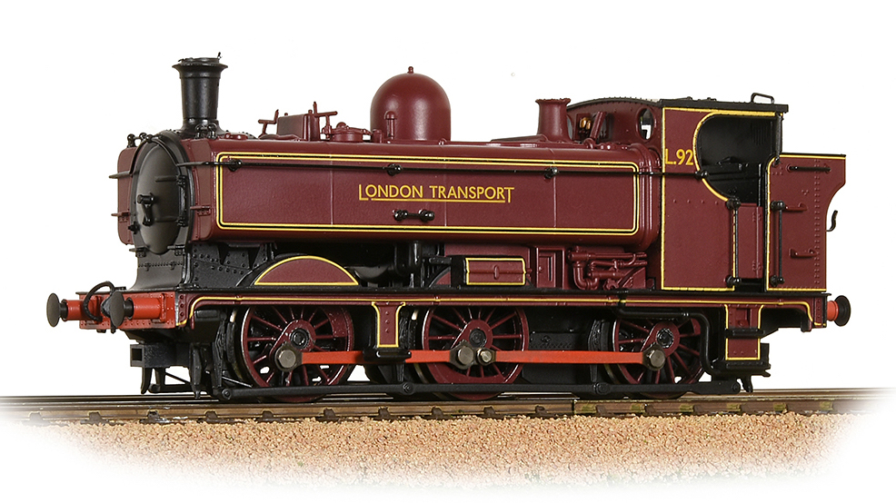 Bachmann 32-217A GWR Class 57xx Pannier Tank London Transport Lined Maroon