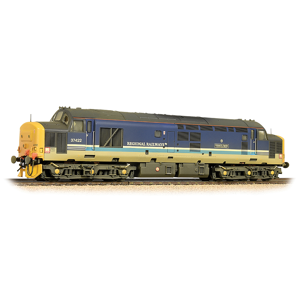 Bachmann 32-376A Class 37/4 Refurbished 37422 'Robert F. Fairlie' BR Regional Railways [W]