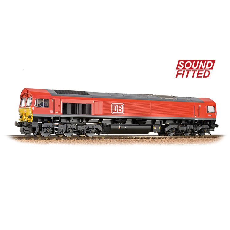 Bachmann 32-734BSF Class 66/0 66117 DB Cargo - Sound Fitted