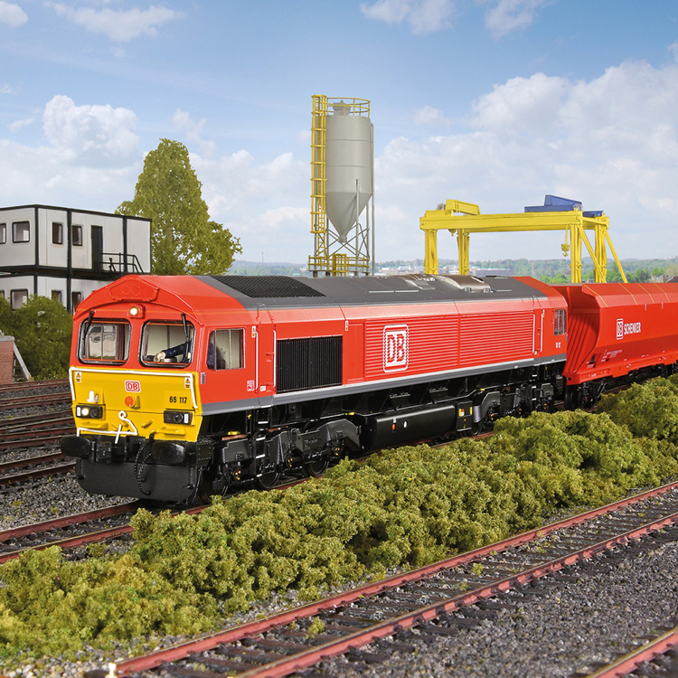 Bachmann 32-734BSF Class 66/0 66117 DB Cargo - Click Image to Close