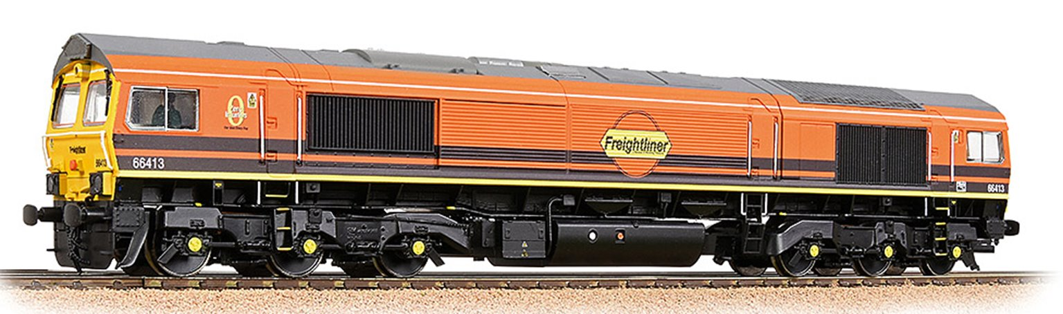 Bachmann 32-739SF Class 66/4 66419 Freightliner G&W - Sound Fitted