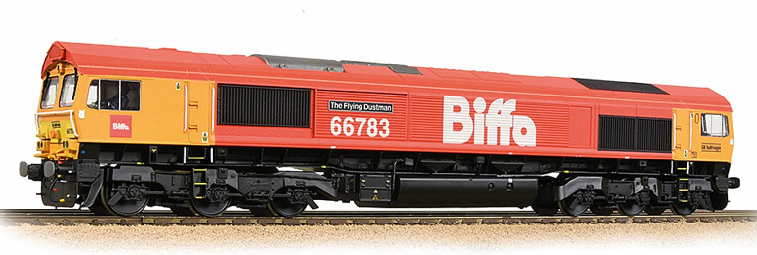 Bachmann 32-741SF Class 66/7 66783 'The Flying Dustman -Sound Fitted