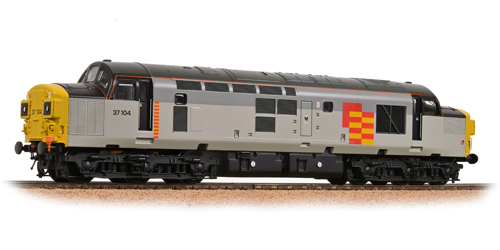 Bachmann 32-775NF Class 37/0 37104 Railfreight General Cockney Sparrow
