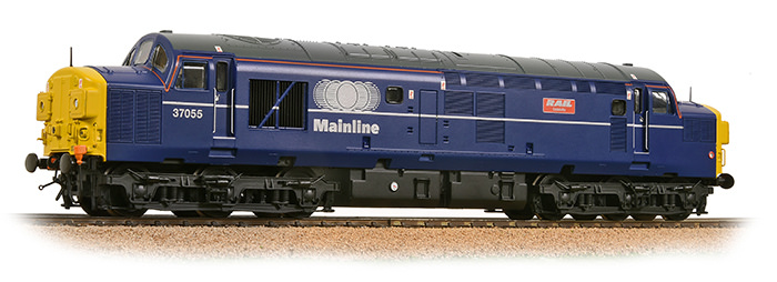Bachmann 32-775TLDS Class 37/0 37055 'Rail Celebrity' Mainline Blue (DCC Sound)