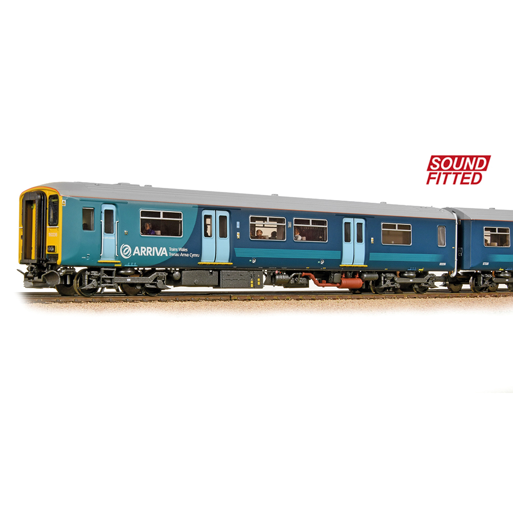 Bachmann 32-939DS Class 150/2 2-Car DMU 150236 Arriva Trains Wales (Revised) [PF]