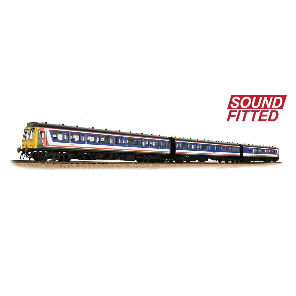 Bachmann 35-502SF Class 117 3-Car DMU BR Network SouthEast (Revised)