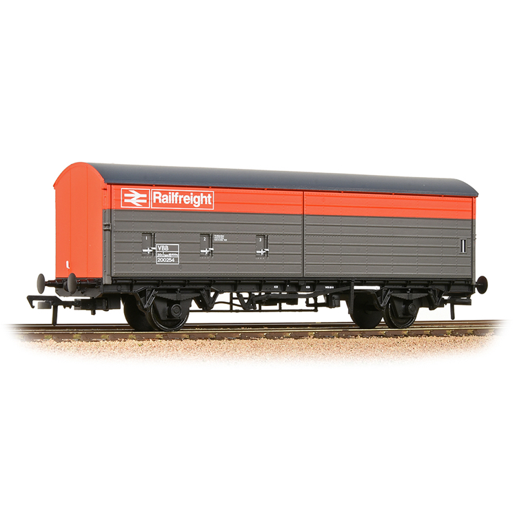 Bachmann 38-128 BR VBA Van BR Railfreight Red & Grey