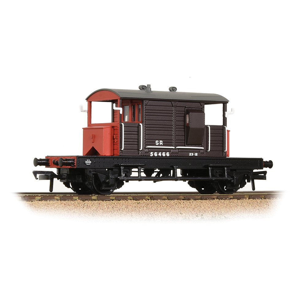 Bachmann 38-400B SR 25T 'Pill Box' Brake Van Right-Hand