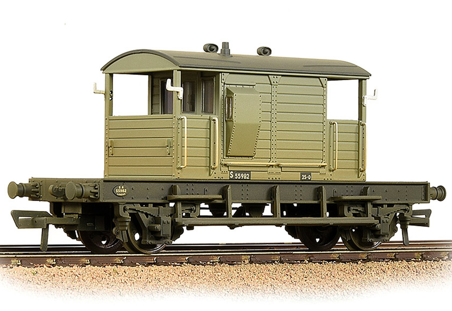 Bachmann 38-401B SR 25T 'Pill Box' Brake Van Left-Hand