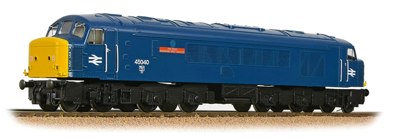 Bachmann 32-684DBSF - DCC SOUND - Class 45/0 45040 'The King's Shropshire Light Infantry' BR Blue