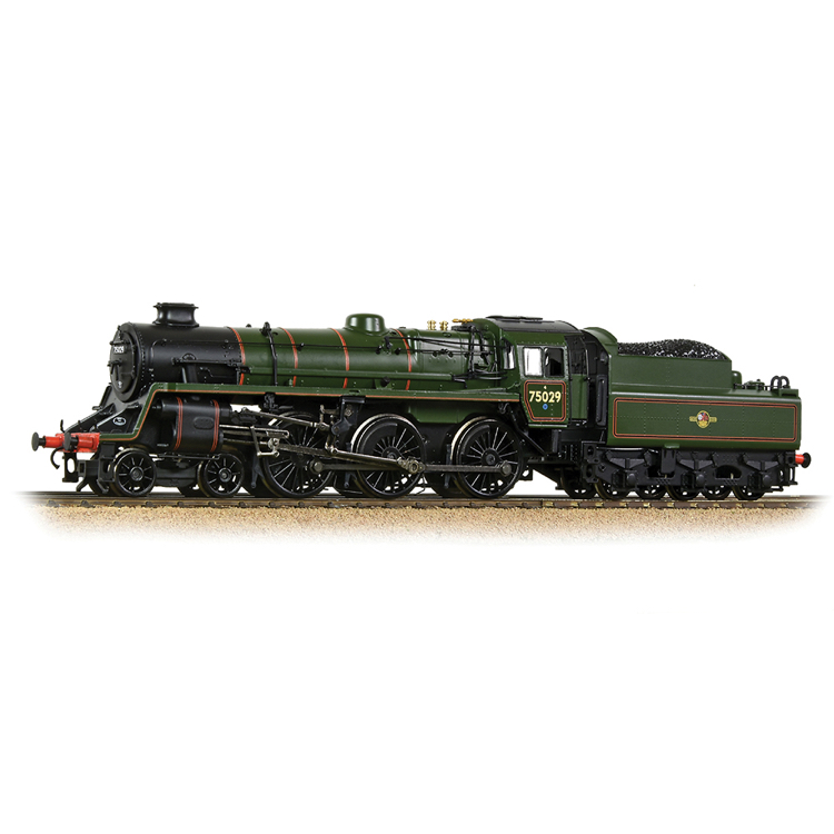 Bachmann 31-116A BR Standard 4MT BR2 Tender 75029 BR Lined Green (Late Crest)