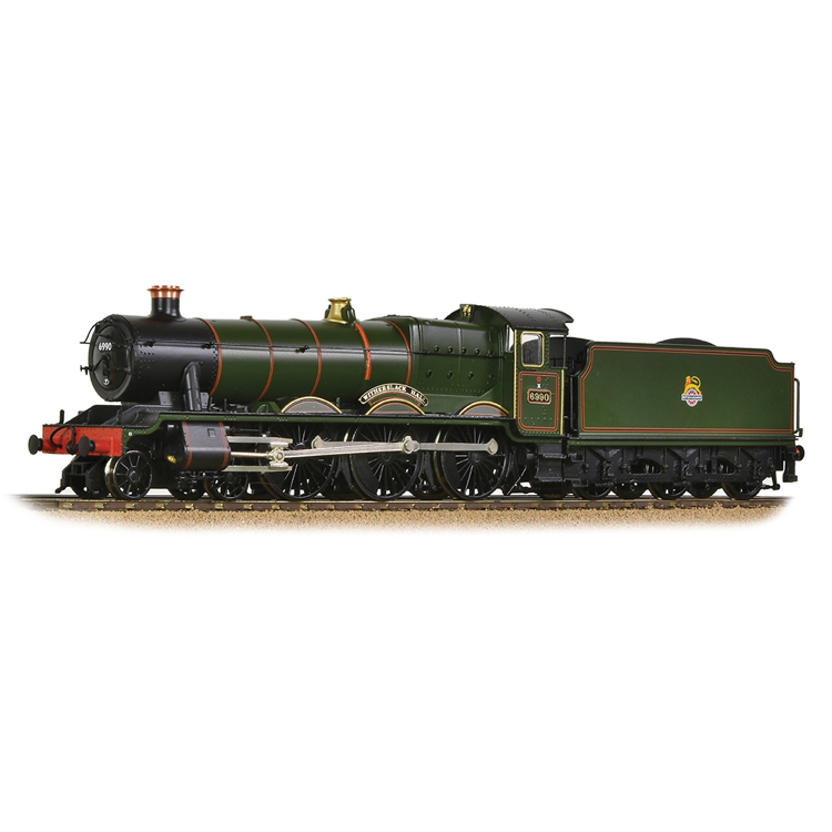Bachmann 31-785 GWR 'Modified Hall' 6990 'Witherslack Hall' BR Lined Green (Early Em.)