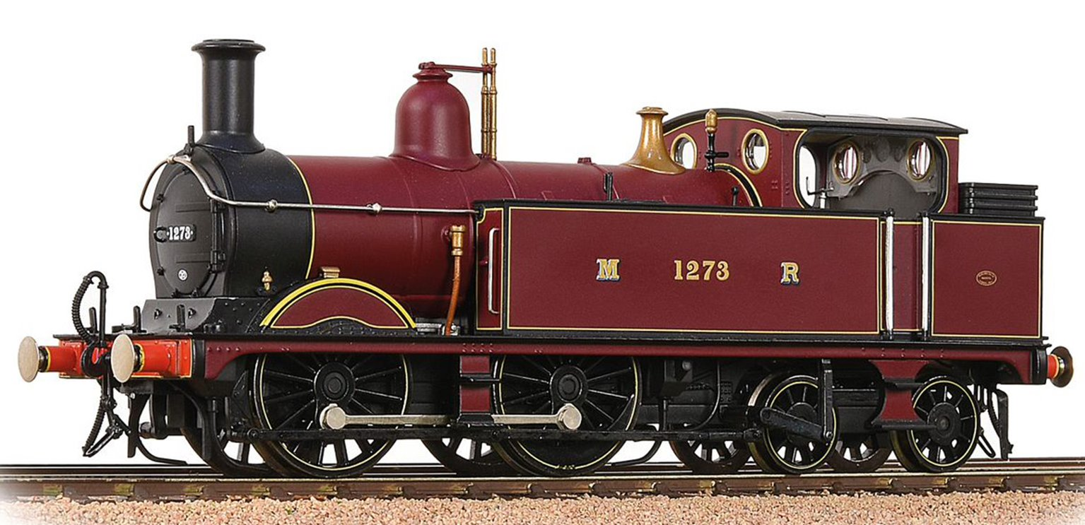 Bachmann 31-740 1532 Class Johnson MR 1532 (1P) Tank 1273 Midland Railway Crimson Lake