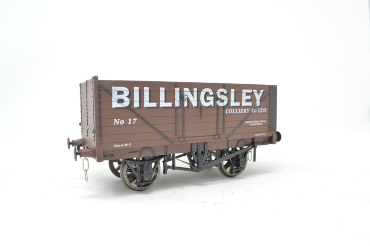Dapol FPOO3 Exclusive 7 Plank Wagon - Billingsley