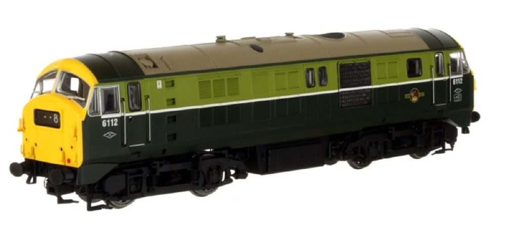 Dapol 4D-014-000 Class 29 6112 BR Two Tone Green with Full Yellow Ends