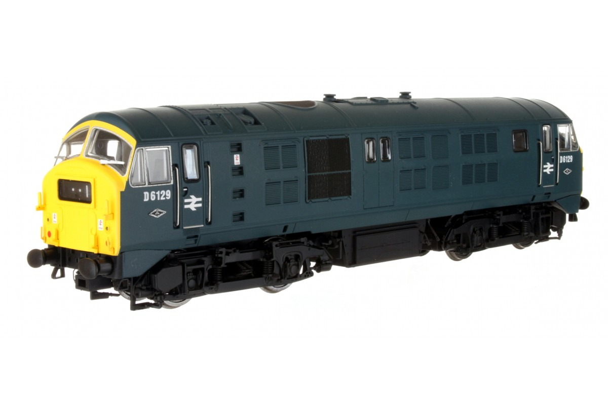 Dapol 4D-014-002 Class 29 D6129 BR Blue with Full Yellow Panel