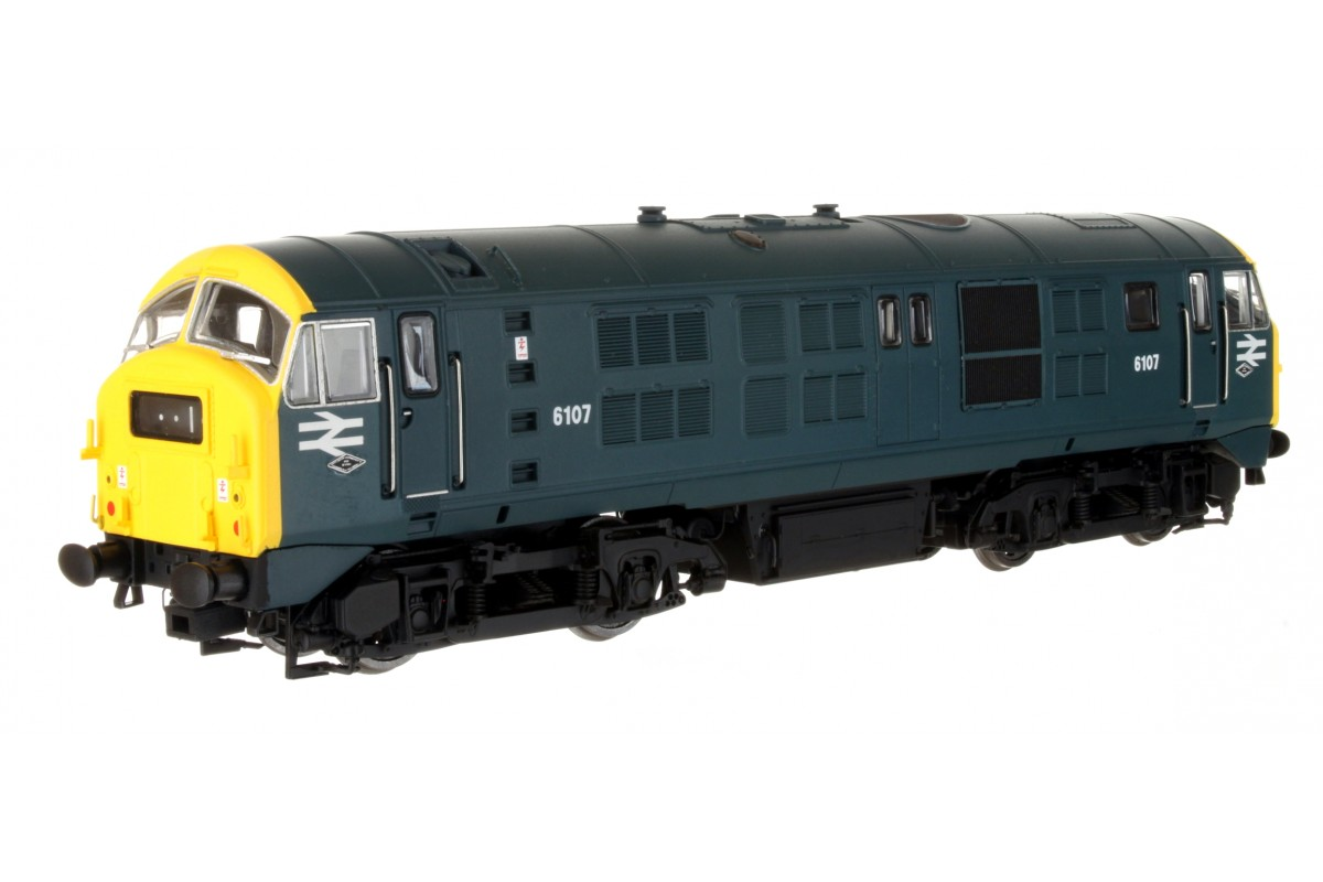 Dapol 4D-014-003 Class 29 6107 BR Blue with Full Yellow Panel