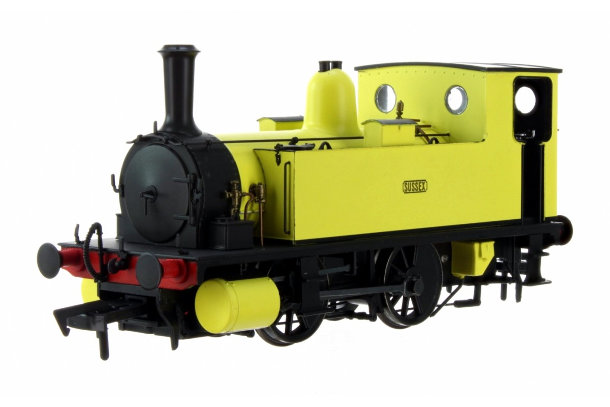 Dapol 4S-018-010 B4 0-4-0T 'Sussex' in Yellow Livery