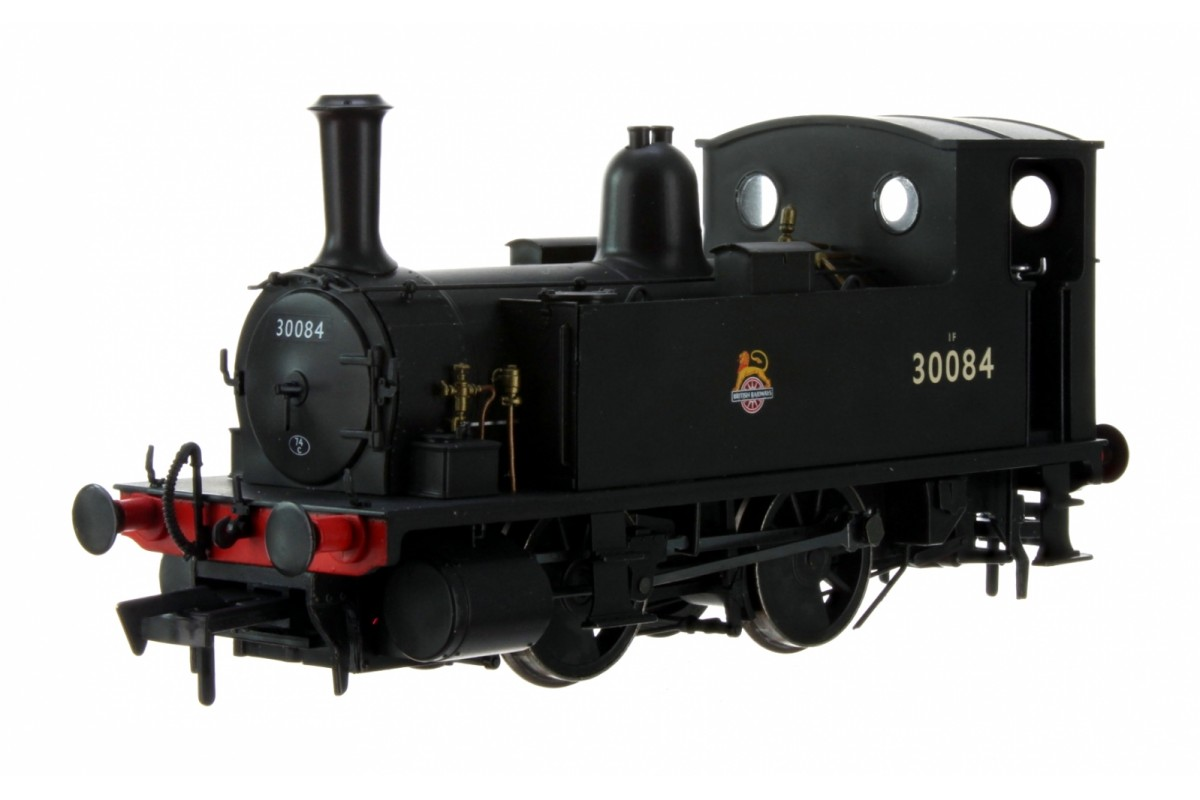 Dapol 4S-018-011 OO GAUGE LSWR CLASS B4 BR BLACK (EARLY CREST) 0-4-0 TANK LOCOMOTIVE NO.30084