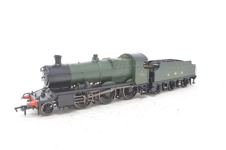 Dapol 4S-043-003 2-6-0 Mogul Green GWR & BR smoke box number