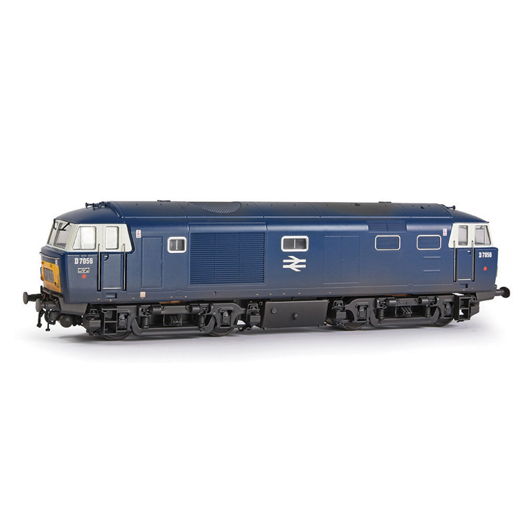 EFE Rail E84004 Class 35 'Hymek' D7056 BR Blue (Yellow Panels & White Cab Windows) [W]