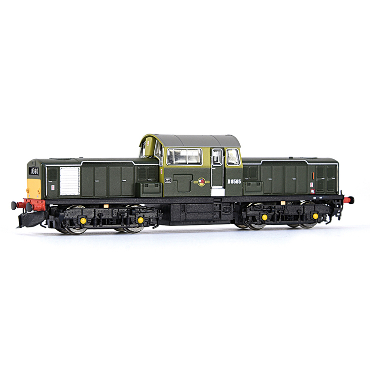 EFE Rail E84501 Class 17 D8585 BR Green (Small Yellow Panels)