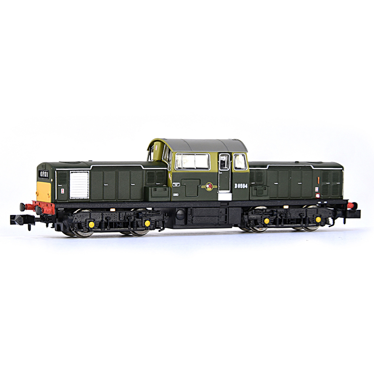 EFE Rail E84502 Class 17 D8594 BR Green (Small Yellow Panels)