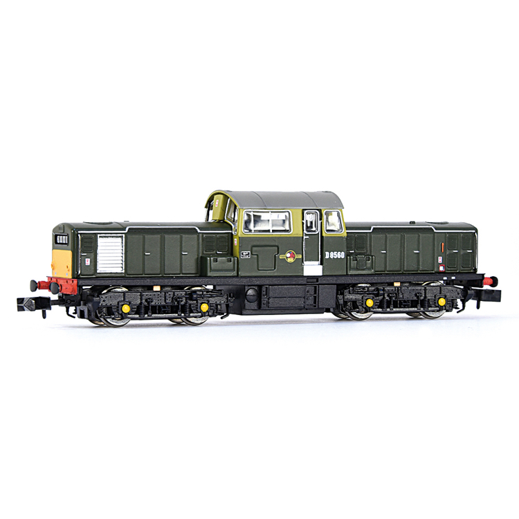 EFE Rail E84503 Class 17 D8560 BR Green (Small Yellow Panels)