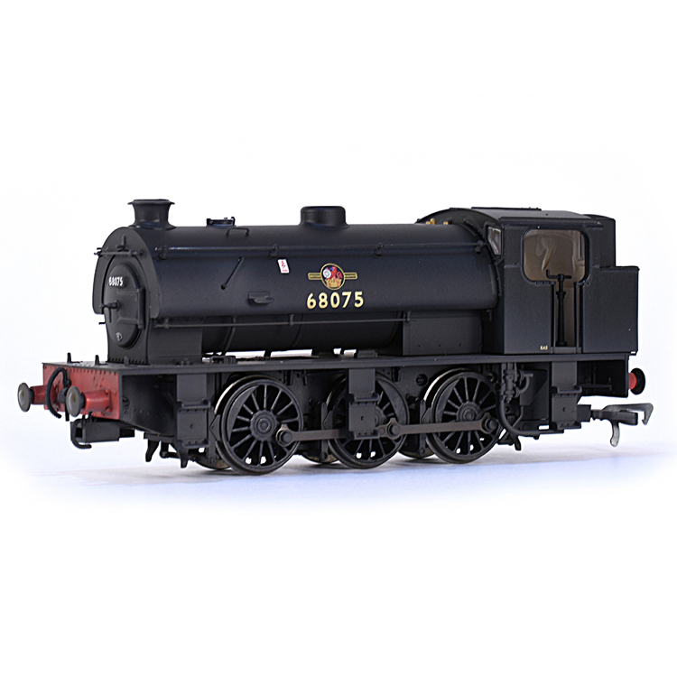 EFE Rail E85001 J94 Saddle Tank 68075 BR Black (Late Crest) [W]