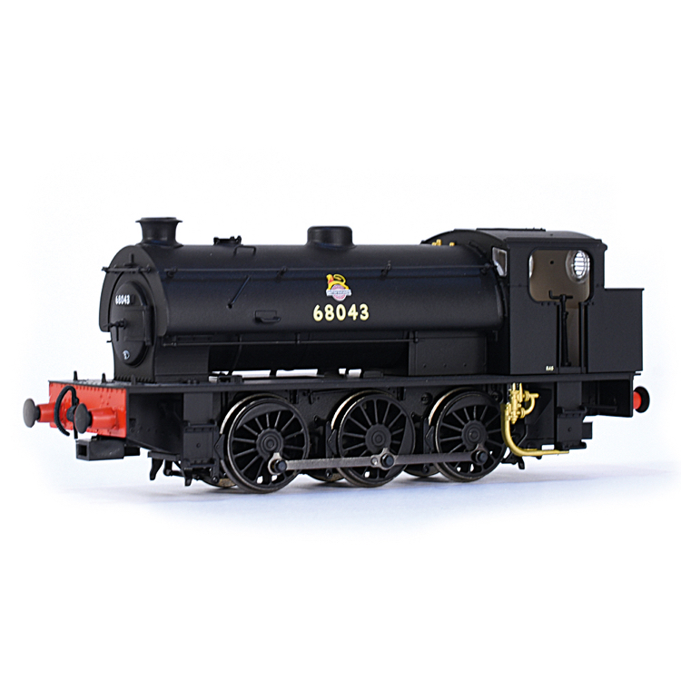 EFE Rail E85002 J94 Saddle Tank 68043 BR Black (Early Emblem)