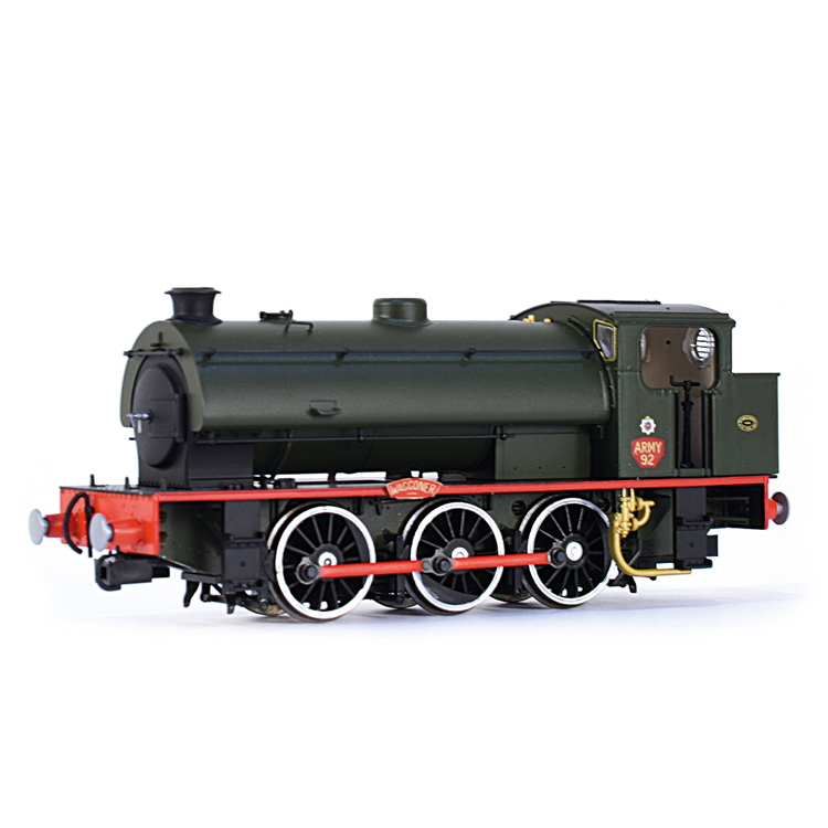 EFE Rail E85006 J94 Saddle Tank Army 92 'Waggoner' Army Green