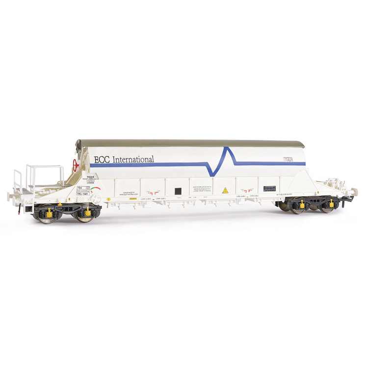 EFE Rail E87010 PBA Tiger Wagon TRL 11601 ECC International White