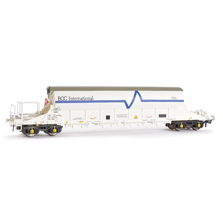 EFE Rail E87011 PBA Tiger Wagon TRL 11603 ECC International White