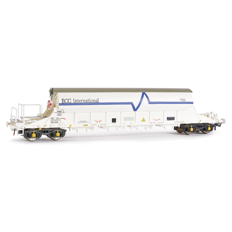 EFE Rail E87013 PBA Tiger Wagon TRL 11610 ECC International White
