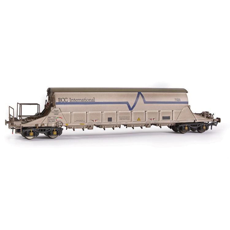 EFE Rail E87014 PBA Tiger Wagon TRL 11627 ECC International White [W]