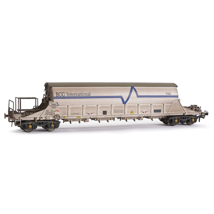 EFE Rail E87015 PBA Tiger Wagon TRL 11612 ECC International White [W]