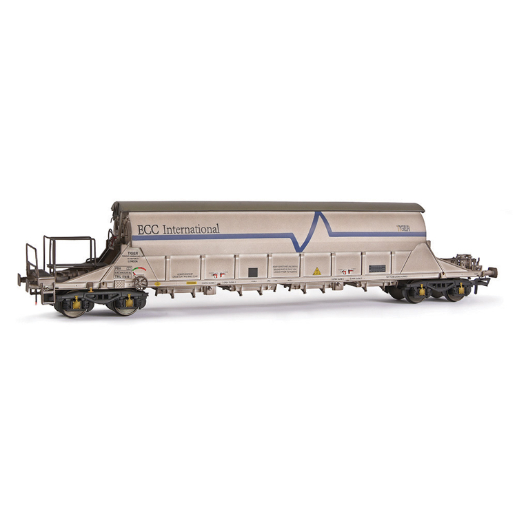 EFE Rail E87016 PBA Tiger Wagon TRL 11616 ECC International White [W]