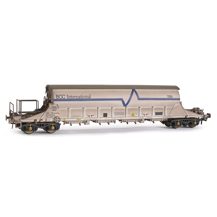 EFE Rail E87017 PBA Tiger Wagon TRL 11620 ECC International White [W]