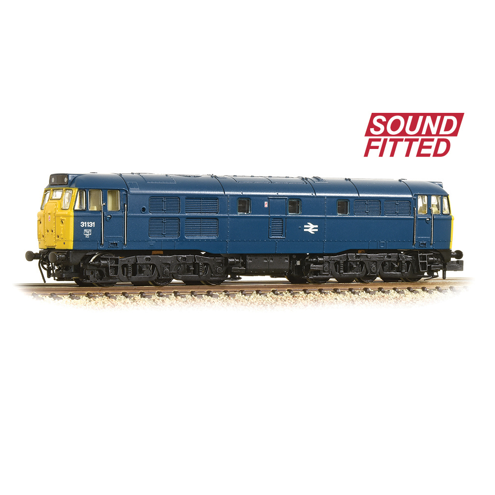 Graham Farish 371-112ASF Class 31/1 31131 BR Blue - SOUND FITTED