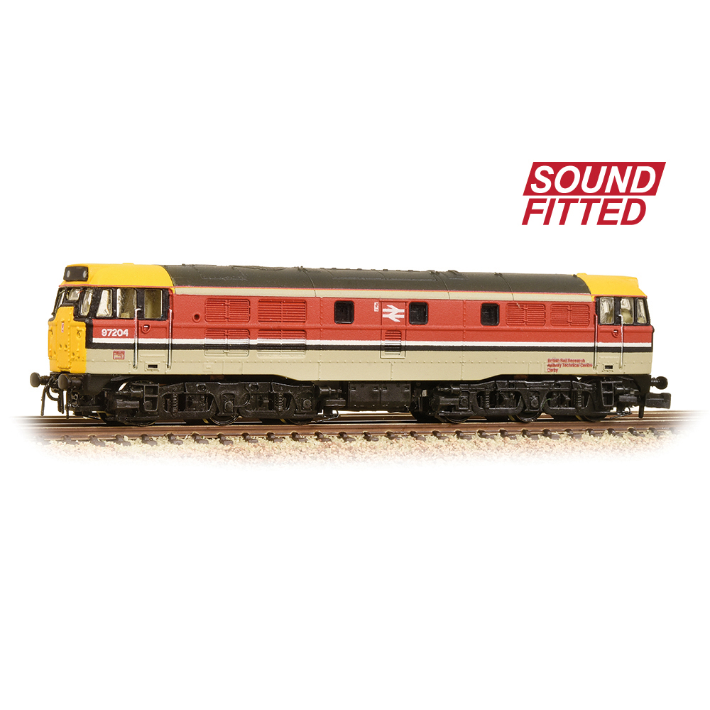 Graham Farish 371-113SF Class 31/1 97204 BR RTC (Revised) - SOUND FITTED