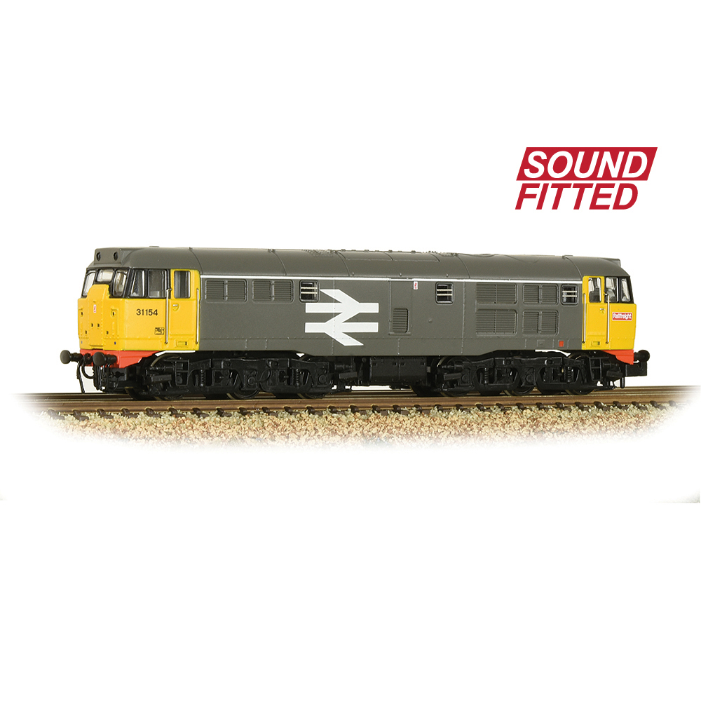 Graham Farish 371-135SF Class 31/1 Refurbished 31154 BR Railfreight - SOUND FITTED