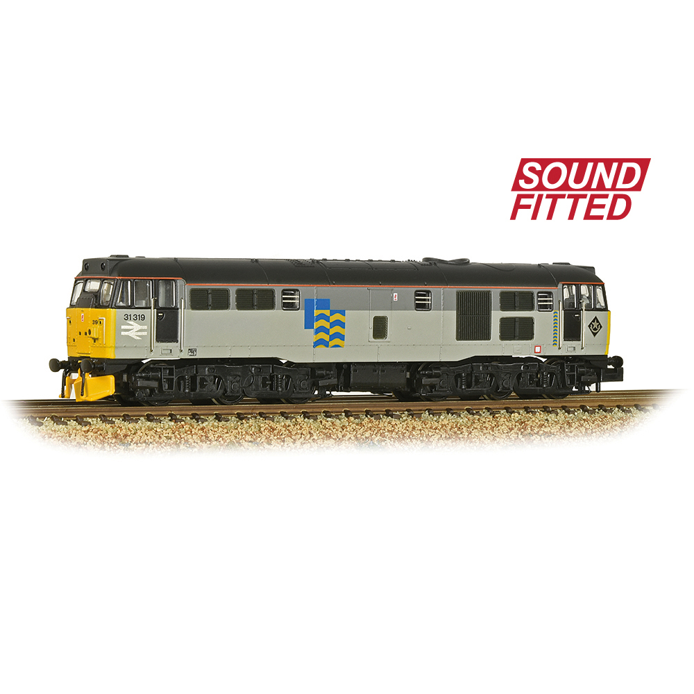Graham Farish 371-136SF Class 31/1 Refurbished 31319 BR Railfreight Petroleum Sector - SOUND FITTED