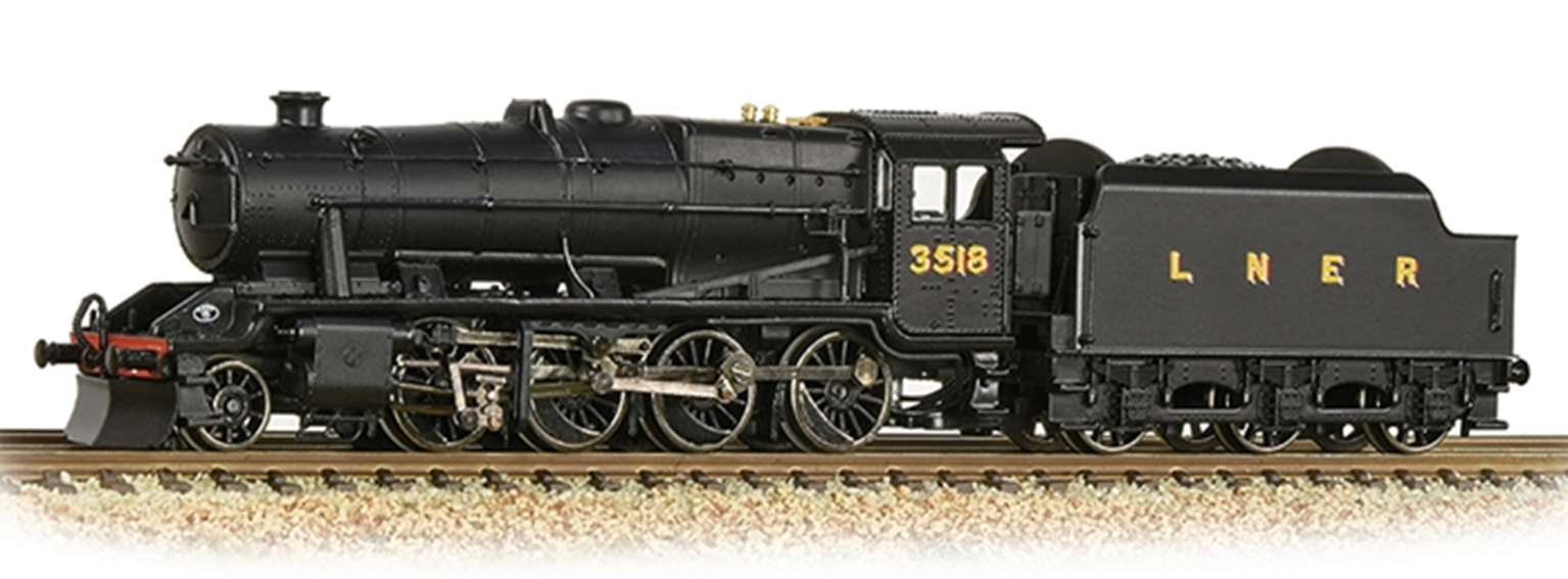 Graham Farish 372-160 Stanier Class 8F NE Black 2-8-0 Steam Locomotive No.3506
