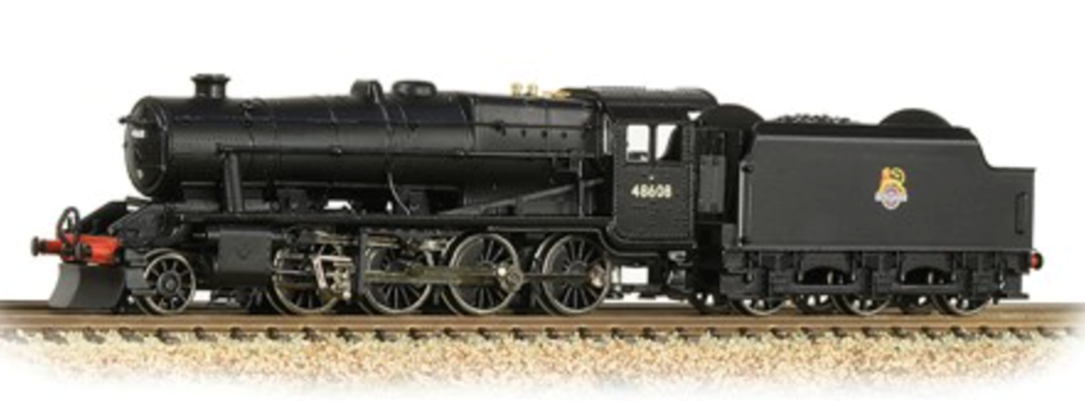 Graham Farish 372-162 Stanier Class 8F BR Black 2-8-0 Steam Locomotive No.48608
