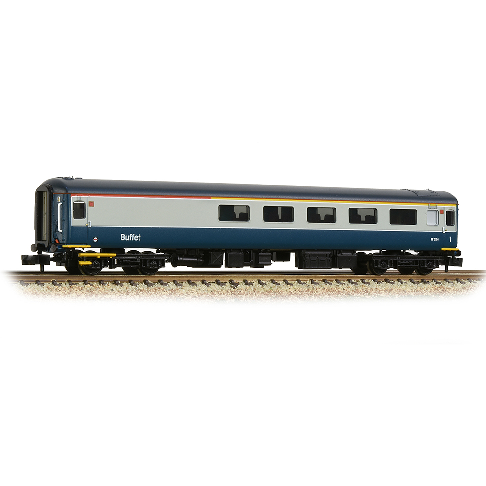 Graham Farish 374-660 BR Mk2F RFB Restaurant First Buffet BR Blue & Grey