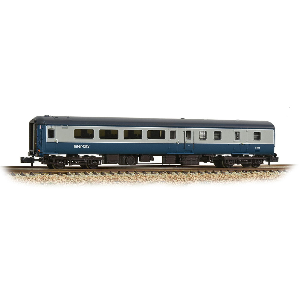 Graham Farish 374-690 BR Mk2F BSO Brake Second Open BR Blue & Grey (InterCity)