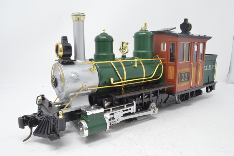 LGB 20251 G Gauge Forney 0-4-4 TCRR Steam Locomotive - reliveried