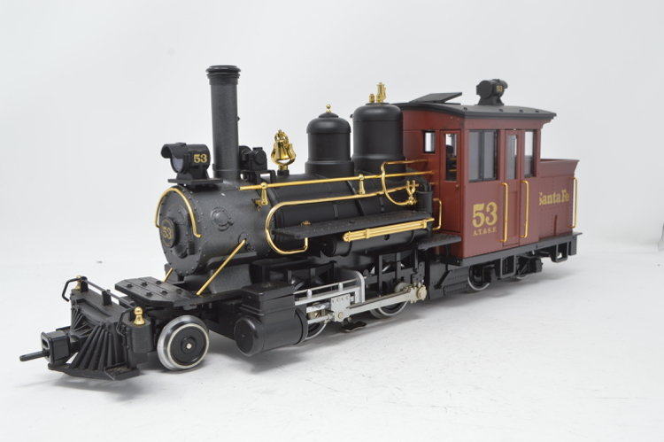 LGB 26251 G Gauge Forney 2-4-4 Santa Fe Steam Locomotive ' Club Edition'